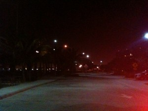 Blue Heron Bridge at 5am run time