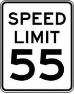 55 sign